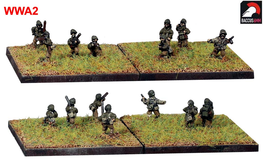 WWA02 - American infantry firing
