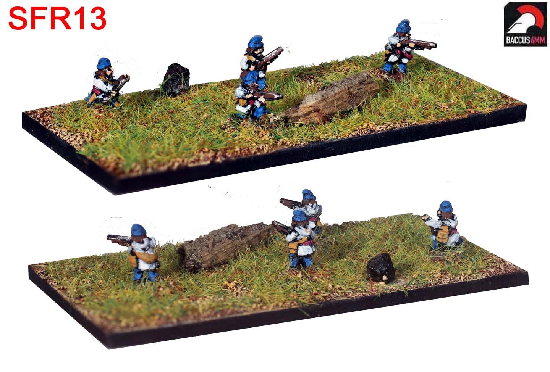 SFR13 - Canadian Militia firing
