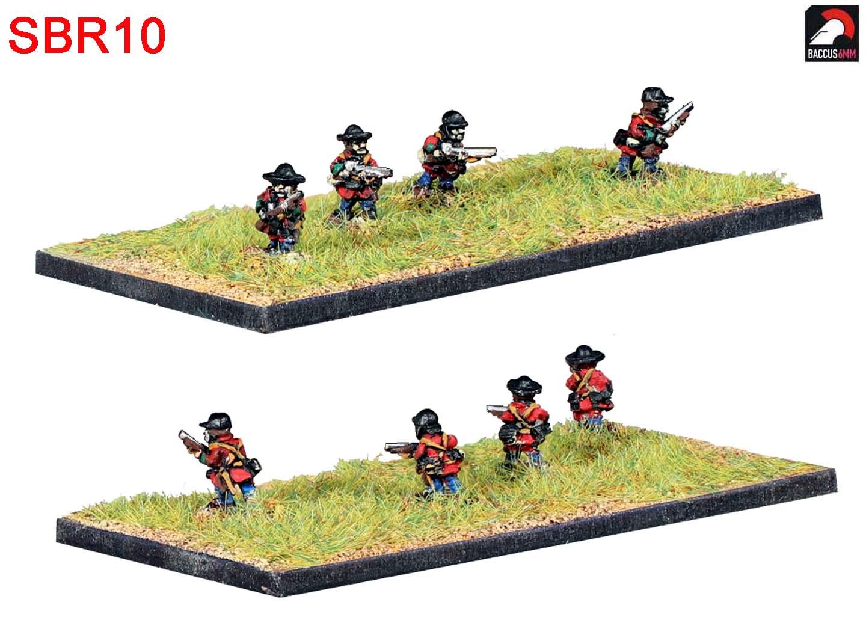 SBR10 - Light infantry advancing